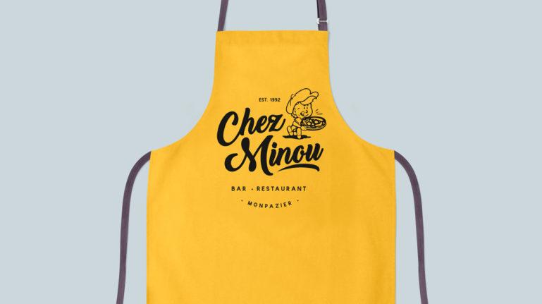 Création d'un logo, Restaurant Chez Minou