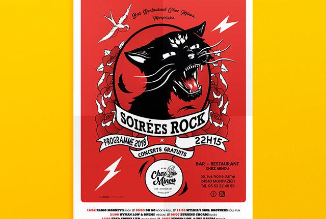 Soirées Rock à l'affiche !