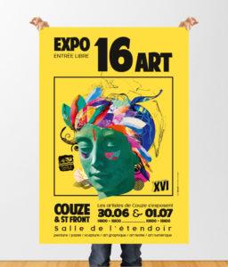 Affiche Exposition ART Dordogne