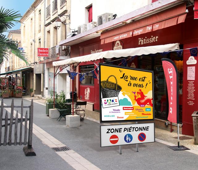 Rue Panneau Lalinde