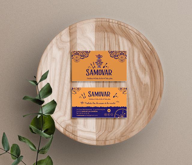 Assiette Samovar