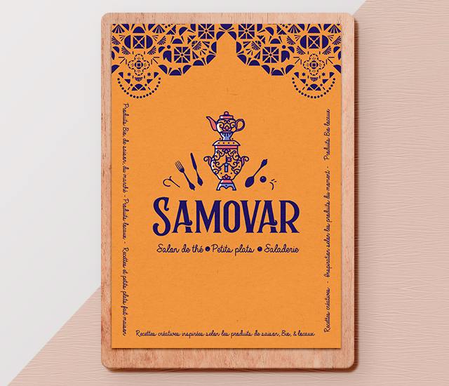 Menu Samovar
