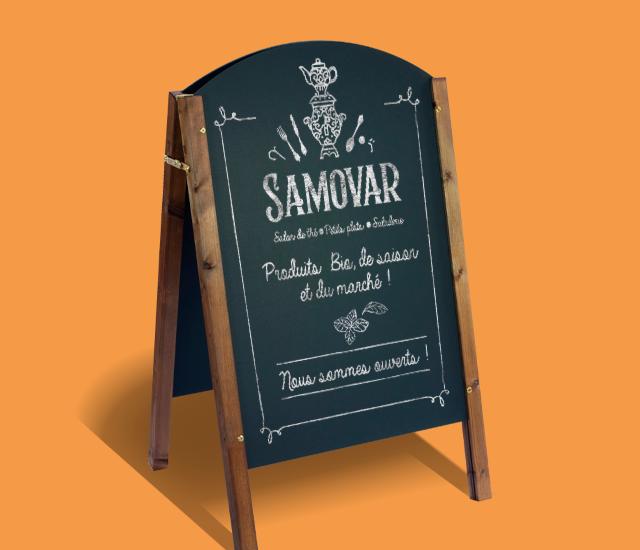 panneau Samovar