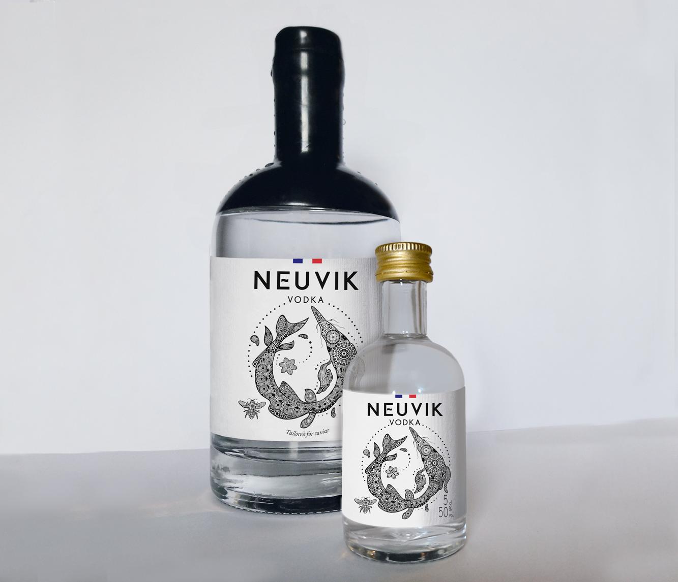 Vodka NEUVIK Erika