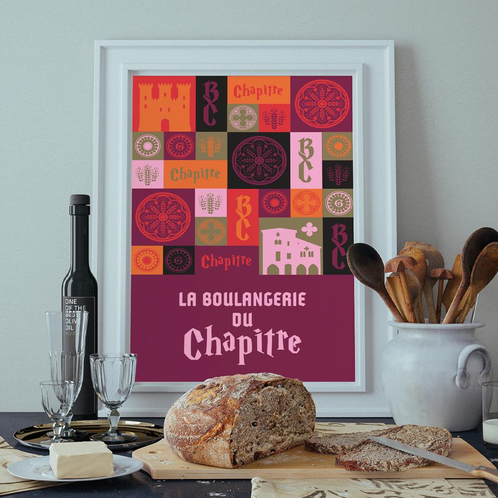 Motifs Illustration Boulangerie de Chapitre